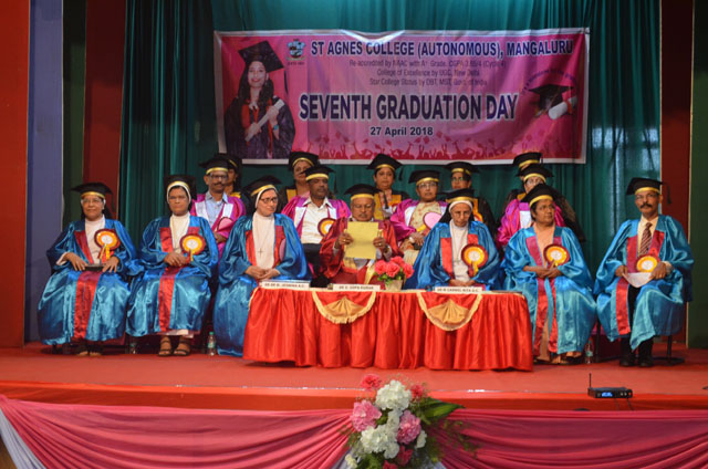Mangaluru: 7th Graduation Day held at St Agnes College