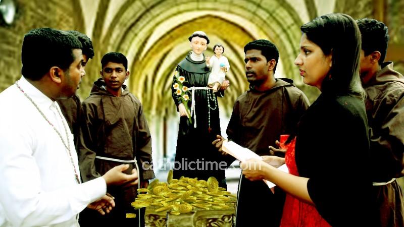 Mangaluru : 'Santh Anthony Potr Potik Pavoi', 2D Konkani drama at Milagres open grounds on 14th February