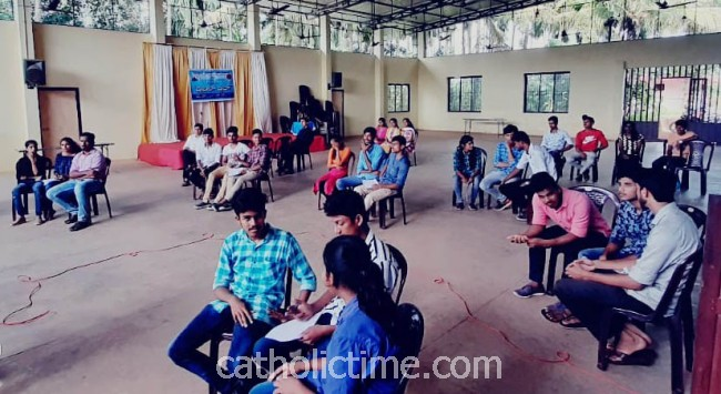 ICYM St. John Paul II Mogarnad deanery in association with Vittal unit holds Bible Quiz Competition