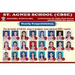 Mangaluru : 1st batch CBSE class X students of St Agnes School secure 100% results