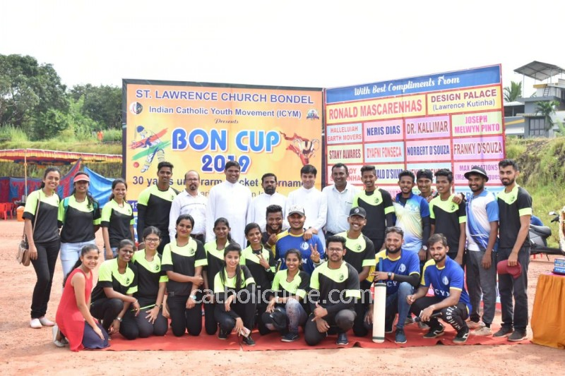 Mangaluru : ICYM Bondel unit holds 'BON CUP 2019' Cricket tournament