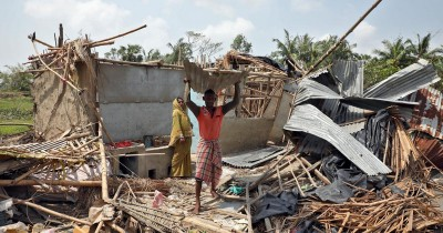 Indian Baruipur Diocese, Calcutta Archdiocese severely hit by cyclone Amphan